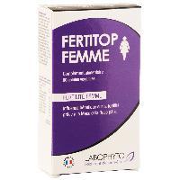 Stimulants pour femme FertiTop Femme - 60 gelules