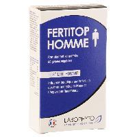 Stimulants pour homme Fertitop Homme - 60 gelules