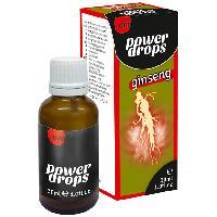 Stimulants pour homme Stimulant compatible avec Homme Power Ginseng Drops - 30 ml