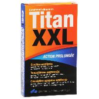 Stimulants pour homme Titan XXL - 20 comprimes