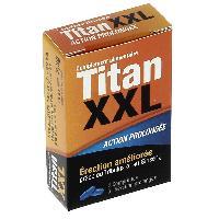 Stimulants pour homme Titan XXL - 2 comprimes