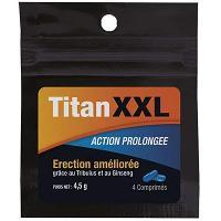Stimulants pour homme Titan XXL - 4 comprimes