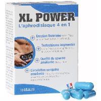 Stimulants pour homme XL Power Erection - 10 gelules