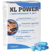 Stimulants pour homme XL Power Erection - 20 gelules