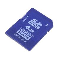 Stockage Externe Carte memoire industrielle SDHC MLC 4GB - temp -40 +85 - GoodRam
