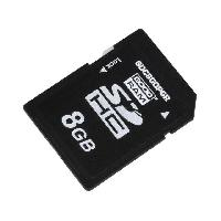 Stockage Externe Carte memoire industrielle SDHC pSLC 8GB - temp.-4085