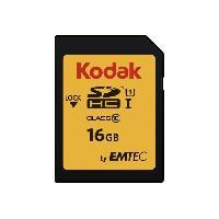 Stockage Externe EKMSD16GHC10K Carte memoire SDHC 16GB Classe 10 U1 Premium