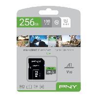 Stockage Externe PNY Carte memoire MICROSDX 256GB ELITE