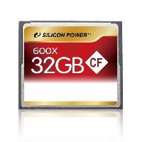 Stockage Externe SILICON POWER Carte memoire Compact Flash 600X - 32 Go