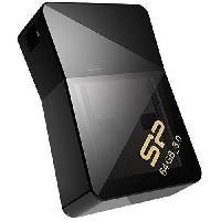 Stockage Externe SILICON POWER Clé USB 3.0 J08 - 64 GB - Noir - Aucune