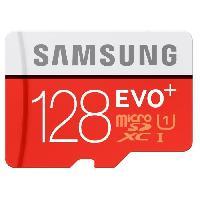 Stockage Externe Samsung Micro SD Evo PLUS Adapt SD 128Go