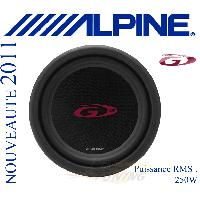 Subwoofers Auto SWG-1244E - Subwoofer 30cm - 250W RMS - Serie G