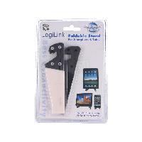 Support Pc Et Tablette Support pour tablettesmartphone - pliable - blanc et noir