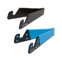 Support Pc Et Tablette Support pour tablettesmartphone - pliable - bleu et noir