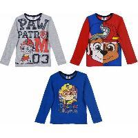 T-shirt - Debardeur 24x T-Shirt Manches Longues Pat Patrouille -assort.-