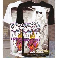 T-shirt - Debardeur T-Shirt Homme -Blazed- Noir - L - Version Streetwear - Hustler