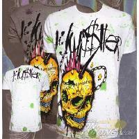 T-shirt - Debardeur T-Shirt Homme -Street Hawk- Noir - L - Version Clubwear Hustler