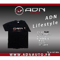 T-shirt - Debardeur Tshirt - Noir - Taille M - ADNAuto
