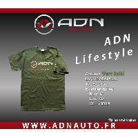 T-shirt - Debardeur Tshirt - Vert Kaki - Taille M - ADNAuto