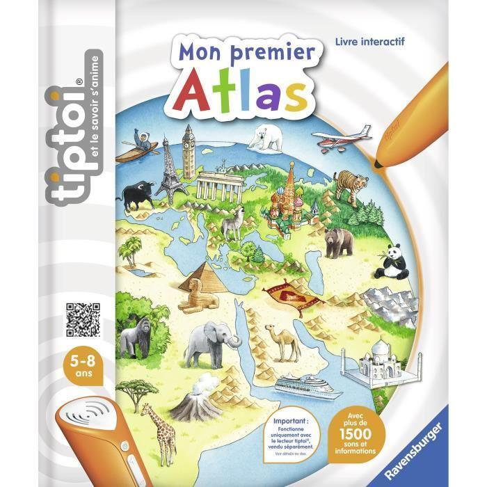 Tiptoi Livre Interactif Mon Premier Atlas Interactif Eur