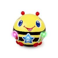 Table Activite - Jouet D'activite BRIGHT STARTS Abeille Musicale Roll et Chase Bumble Bee