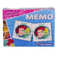 Table Activite - Jouet D'activite CLEMENTONI Super Memo - Disney Princesses - Jeu de memorisation