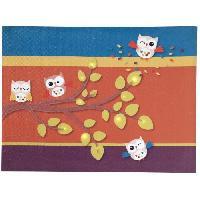 Tableau - Toile DOMIVA Toile Lumineuse Scintillante Les Ziboux Multicolore - Ciel de lit