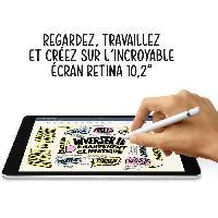 Tablette Apple - iPad (2021) - 10.2 WiFi + Cellulaire - 64 Go - Gris Sidéral
