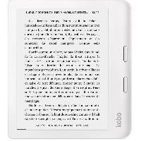 Tablette Liseuse KOBO Libra 2 Blanc - 7 - 300ppp - Comfortlight PRO - Waterproof - Bluetooth - 32Go