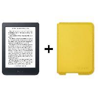 Tablette Pack KOBO: Liseuse Nia - 6 - 212ppp + Etui Sleepcover Citron