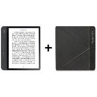 Tablette Pack KOBO : Liseuse Tactile Forma 8- Stockage 8 Go + Etui SleepCover Noir