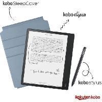 Tablette Pack Liseuse Bloc Note KOBO Elipsa - 10 - 32Go + Etui Sleepcover + Stylet