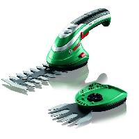 Taille-haie BOSCH Cisaille sans fil ISIO Set 2 lames