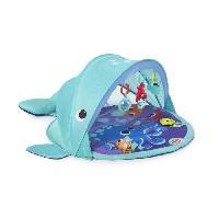 Tapis Eveil - Aire Bebe Bright Starts Tapis d'Eveil Explore & Go Whale? Protection UV