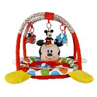 Tapis Eveil - Aire Bebe DISNEY BABY Tapis de jeu Mickey Rouge