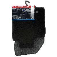 Tapis de sol 4 Tapis moquette compatible avec Dacia Duster 10-17 sur mesure