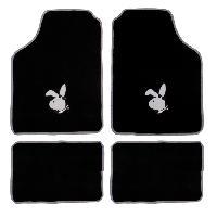 Tapis de sol Jeu de 4 Tapis de sol - Evo Bunny - Logo Argent - ADNAuto