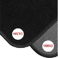Tapis de sol Tapis de coffre reversible PVC moquette 90x70 cm - ADNAuto