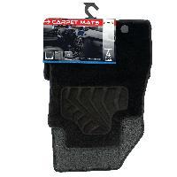 Tapis de sol Tapis moquette compatible Nissan Juke ap10 sur mesure 4 pieces Carplus