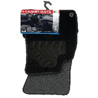 Tapis de sol Tapis moquette compatible avec Audi A4 B8 08-15 sur mesure 4 pieces