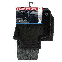 Tapis de sol Tapis moquette compatible avec Audi Q3 ap11 sur mesure 4 pieces