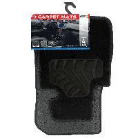 Tapis de sol Tapis moquette compatible avec BMW Serie 1 F20 sur mesure 4 pieces