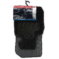 Tapis de sol Tapis moquette compatible avec BMW Serie 3 F30 sur mesure 4 pieces