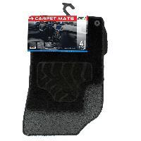 Tapis de sol Tapis moquette compatible avec Citroen DS3 ap10 sur mesure 4 pieces