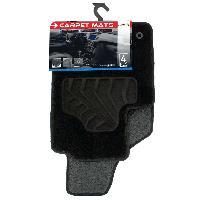 Tapis de sol Tapis moquette compatible avec Fiat 500 07-15 sur mesure 4 pieces
