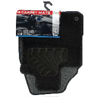Tapis de sol Tapis moquette compatible avec Nissan Qashqai 07-14 sur mesure 4 pieces