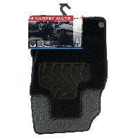 Tapis de sol Tapis moquette compatible avec Nissan Qashqai 2 ap14 sur mesure 4 pieces Carplus