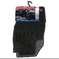 Tapis de sol Tapis moquette compatible avec Opel Corsa E ap14 sur mesure 4 pieces