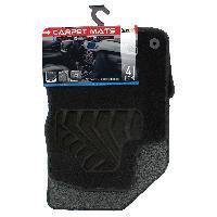 Tapis de sol Tapis moquette compatible avec Peugeot 208 08-12 sur mesure 4 pieces