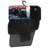 Tapis de sol Tapis moquette compatible avec Seat Ateca ap16 sur mesure 4 pieces